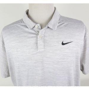 Nike Tiger Woods XL Golf Polo Shirt Dry Flex Cool